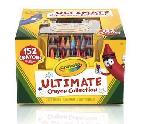 2017黑五!亚马逊海外购! Crayola 绘儿乐 152色彩色蜡笔