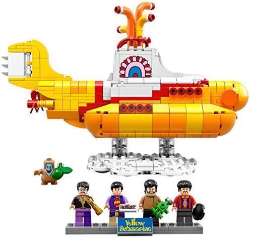 2017美亚黑五特价!LEGO 乐高 21306 披头士黄色潜水艇