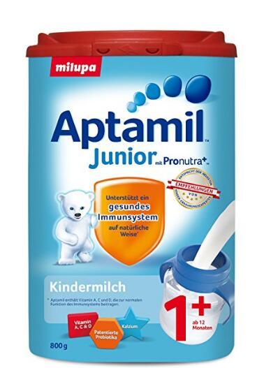 海外购好价!Aptamil 爱他美 幼儿奶粉 1段+ 800g*6罐