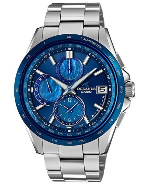 日亚黑五买海神!CASIO 卡西欧 OCEANUS 海神 OCW-T2610F-2AJF 手表