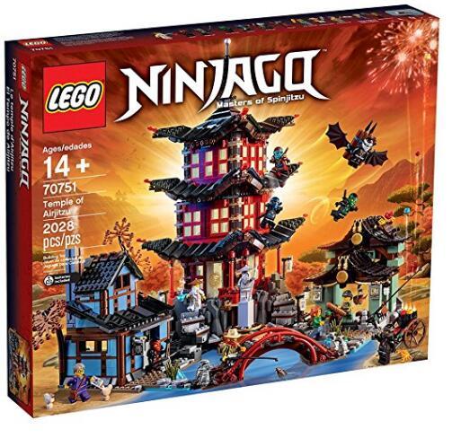 美亚金盒特价!LEGO 乐高 70751 忍者神庙限量版