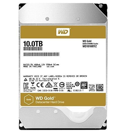 什么值得买! WD 西部数据 WD101KRYZ 企业级3.5英寸硬盘 10TB