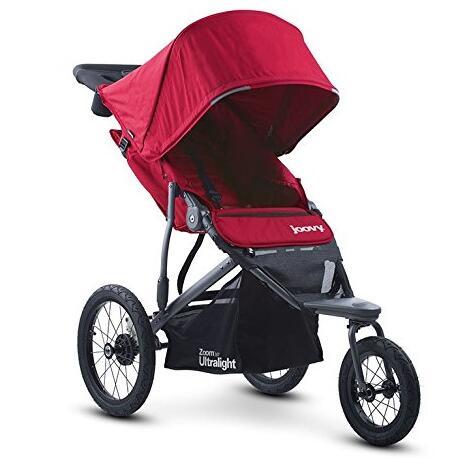 亚马逊海外购!Joovy Zoom 360 Ultralight Jogging 高景观婴儿推车