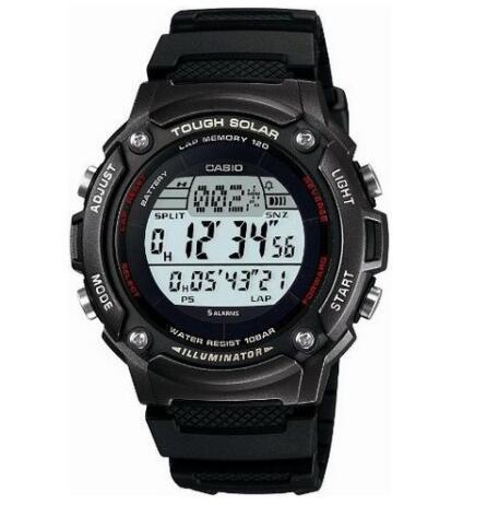 日本亚马逊!CASIO SPORTS GEAR W-S200H-1BJF 卡西欧太阳能手表