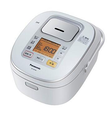 日亚新低!Panasonic 松下 SR-HB106-W 压力式电饭煲 5.5合