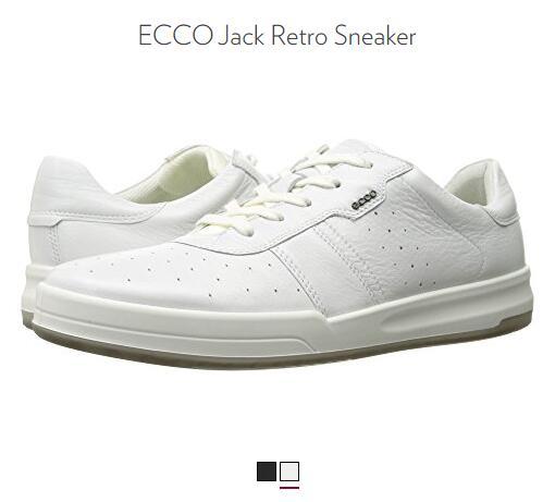 6PM低价推荐!ECCO 爱步 Jack 杰克系列 男士休闲系带鞋