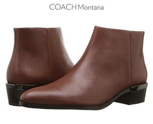 6PM海淘! COACH 蔻驰 Montana 女士真皮踝靴