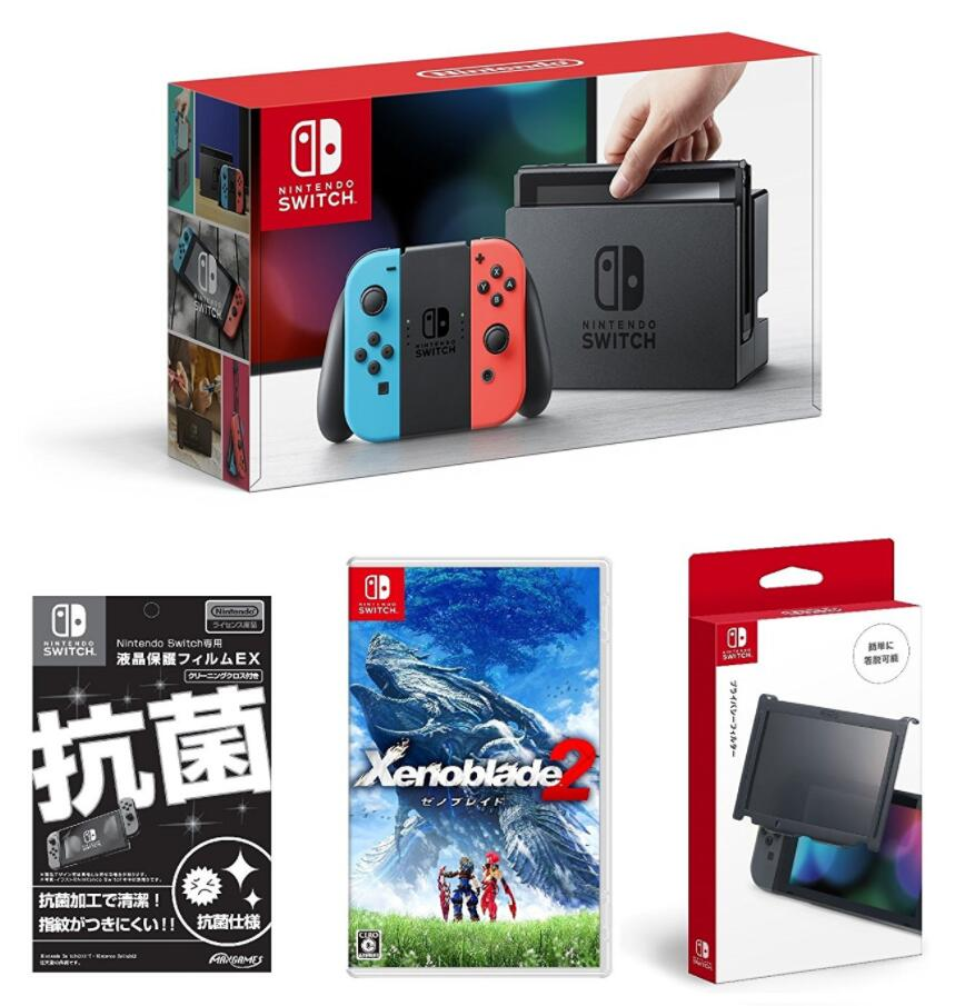 日亚海淘买什么!Nintendo 任天堂 switch《异度神剑2》同捆版主机套装