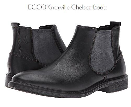 6PM买什么推荐!ECCO Knoxville 爱步诺斯男士真皮切尔西靴