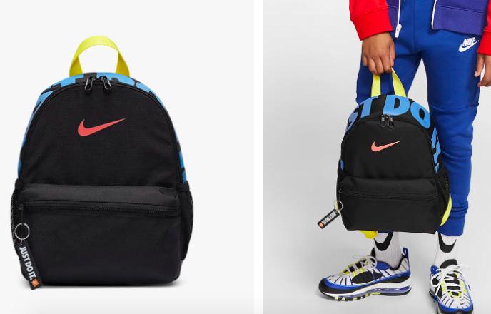 百元好价!Nike JUST DO IT Mini香芋紫双肩包