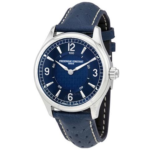 Jomashop海淘手表推荐康斯登 Blue Leather 男士手表