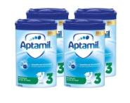 德国W家海淘Aptamil 爱他美 Pronutra 婴幼儿奶粉3段 800g*4罐