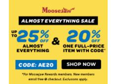 Moosejaw优惠券2020