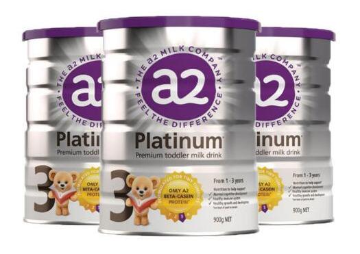 澳洲海淘奶粉推荐!A2 婴幼儿配方奶粉3段 900g*3罐