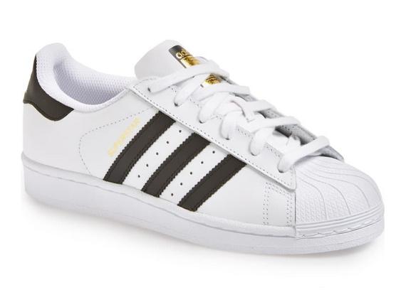 海淘adidas阿迪达斯贝壳金标小白鞋