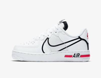 NIKE Air Force 1 React 空军一号大童运动鞋