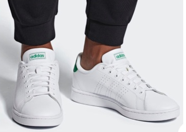 Adidas ADVANTAGE 阿迪达斯小白鞋绿尾