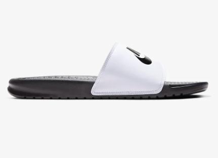 百元左右推荐!Nike耐克黑白鸳鸯配色凉拖鞋