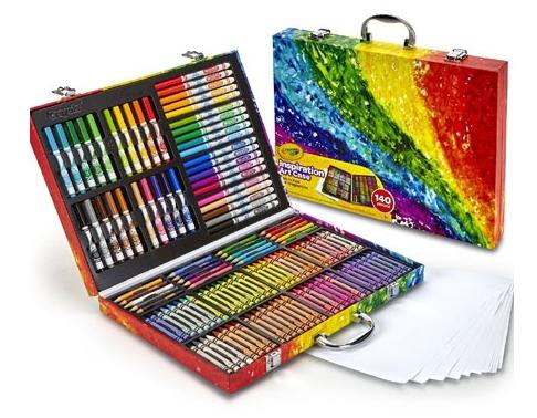绘儿乐创意展现艺术珍藏礼盒140件套