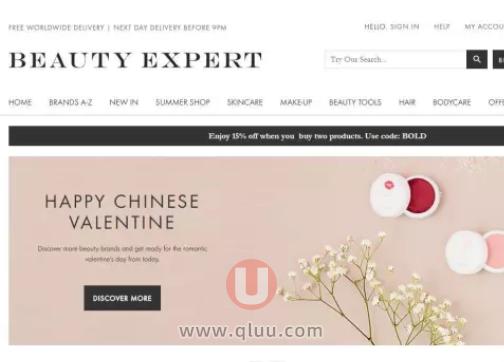 Beauty Expert 中文网站