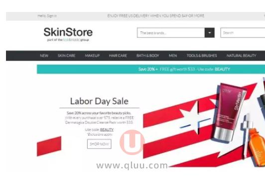Skin Store 中文网站