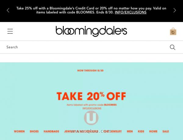 Bloomingdales美国官网
