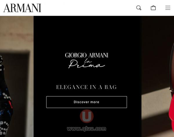 Armani美国官网