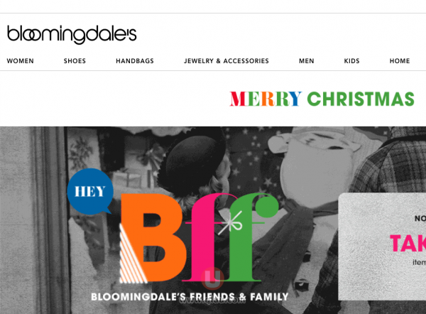 美国Bloomingdale's官网海淘靠谱吗怎么样如何海淘