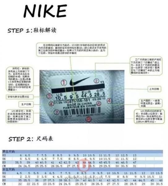 如何辨别海淘鞋子真假Nike耐克Adidas阿迪NewBalance新百伦