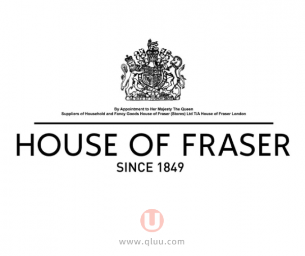 House of Fraser英国官网英国老牌海淘网站