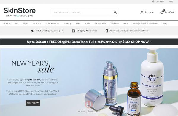 SkinStore美国官网入口及海淘攻略2021