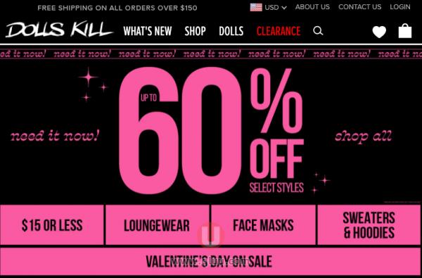 美国Dolls Kill网站