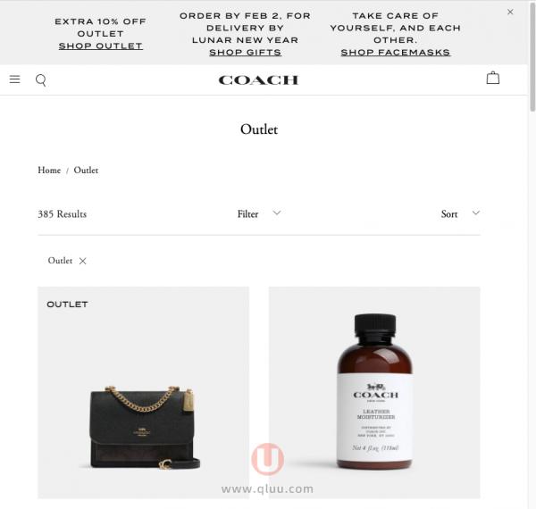 COACH澳洲奥莱网站