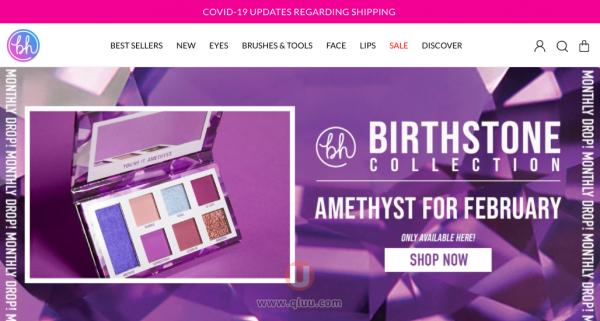 BH Cosmetics美国网站中文版