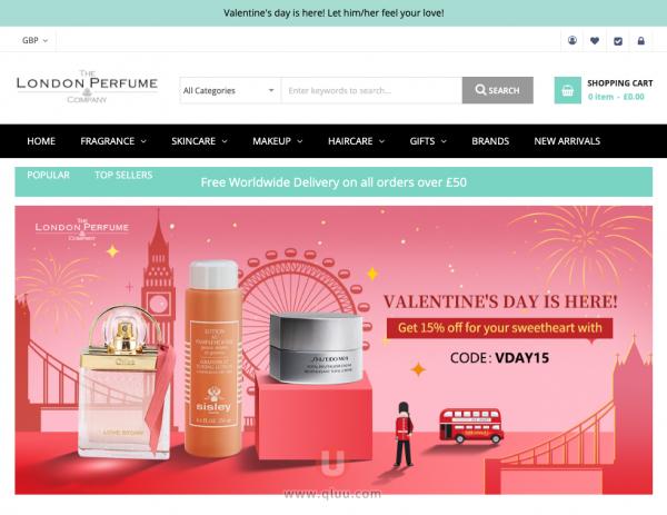 伦敦香水公司英国官网