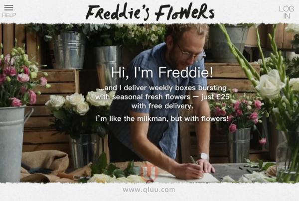 Freddie's Flowers 英国官网