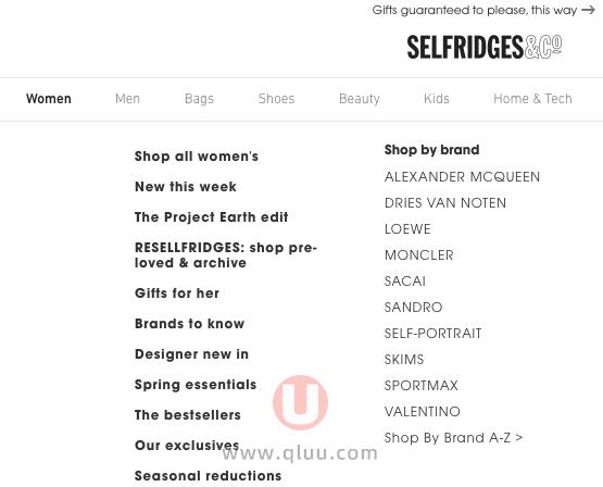 Selfridges网站下单攻略教程详细图文