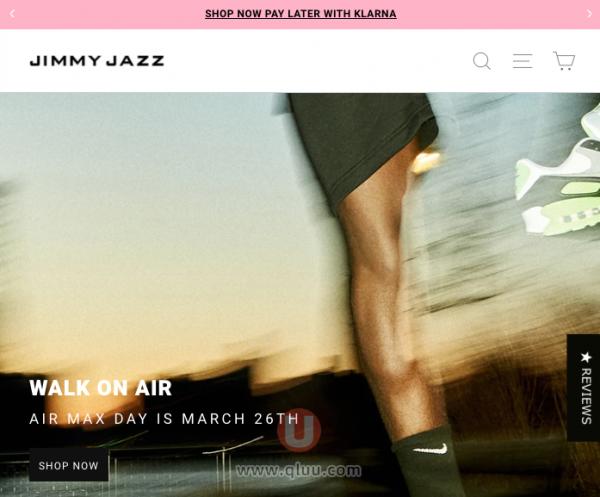 Jimmy Jazz美国网站