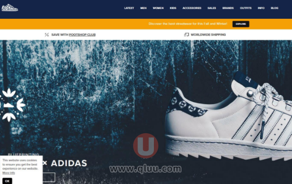 Footshop美国网站