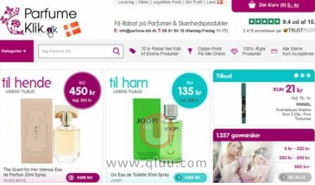 Perfume Click丹麦香水官网