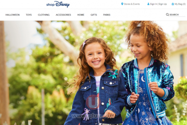 ShopDisney迪士尼美国官网