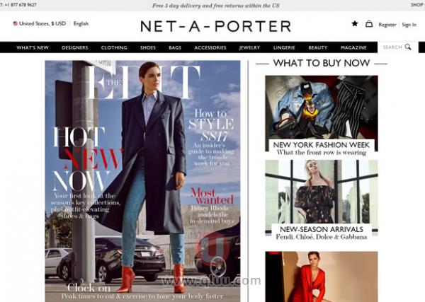 Net-A-Porter美国网站官网