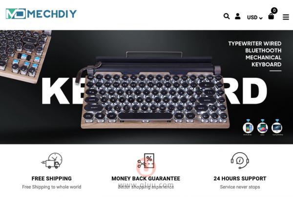 Mechdiy机械键盘网站