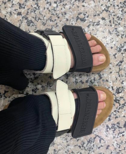 farfetch晒单分享拖鞋brikenstork