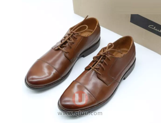 Clarks英伦商务休闲皮鞋