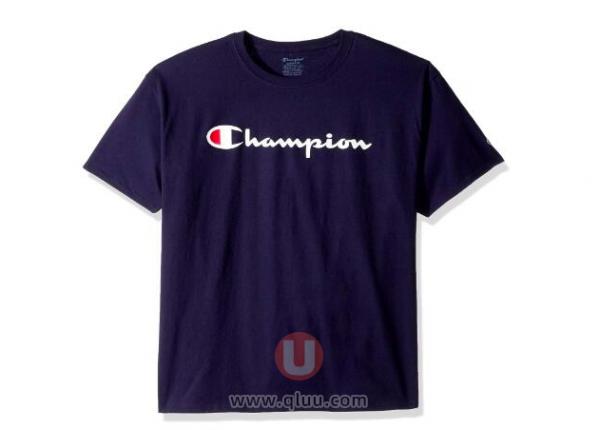 Champion冠军经典LOGO印花T恤